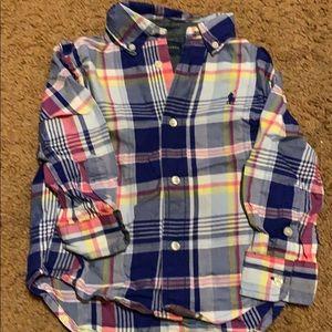 Polo plaid shirt